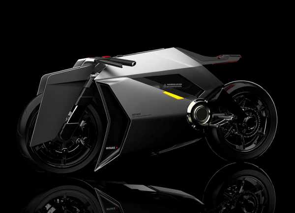 aether electric motorcycle