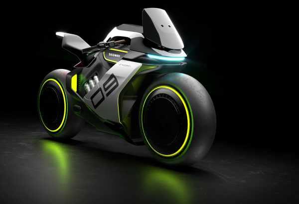 Segway Ninebot Apex H2 Hydrogen motorcycle