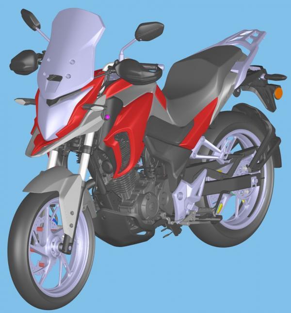 Honda preparing new adventure bike?