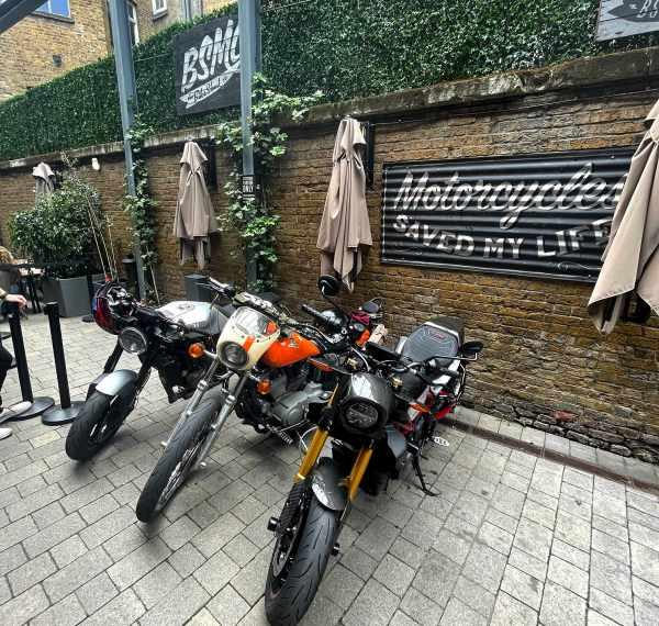 Bike Shed biker cafe