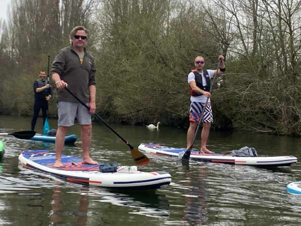 Charley Boorman Paddle Board Movember