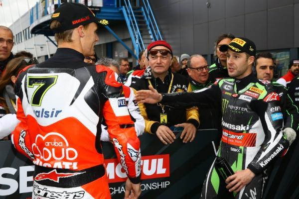 Chaz Davies, Jonathan Rea, Assen, World Superbike [Credit: Gold and Goose]