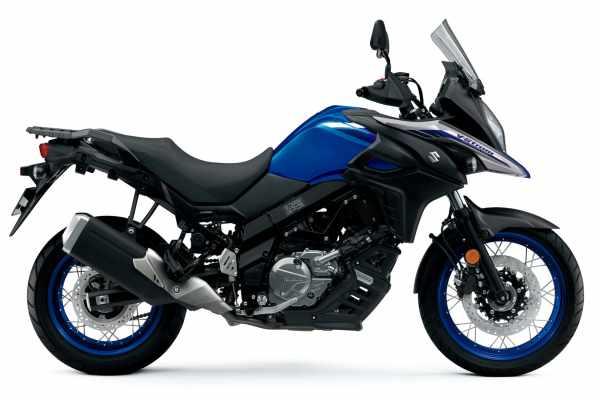 Suzuki V-Strom 650 new colours 2022