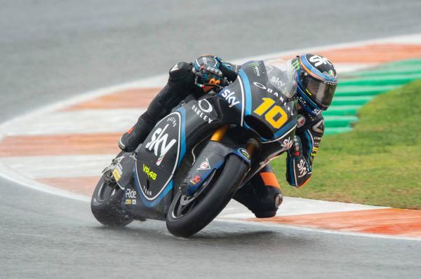 Moto2 Valencia: Marini in dominant form for pole