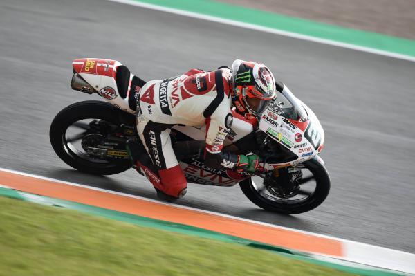 Moto3 Austin: Antonelli masters the wet for COTA pole