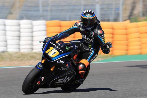 Jerez Moto2 test times - Saturday