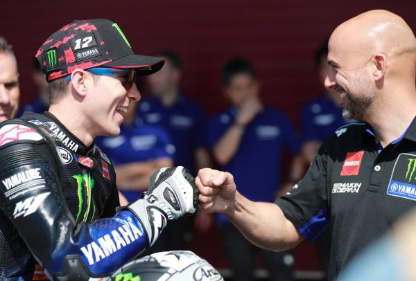 Vinales was too 'soft' at the start