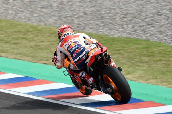 Marquez storms to Argentina pole ahead of Vinales