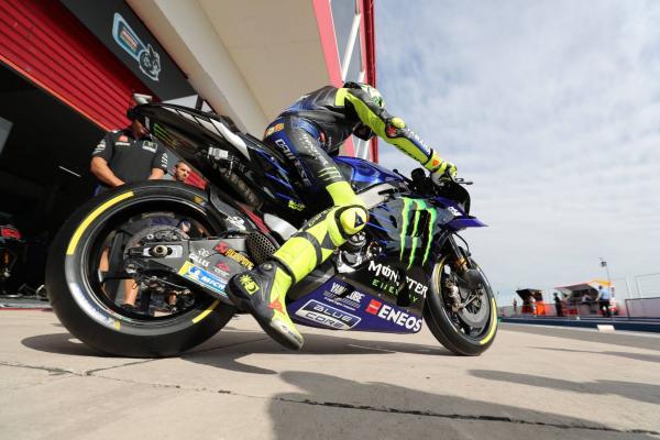 Vinales, Rossi make progress after slow start