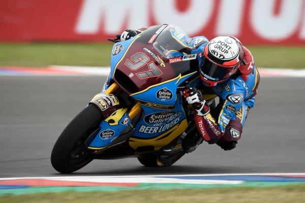 Moto2 Argentina: Vierge returns to pole position with record lap