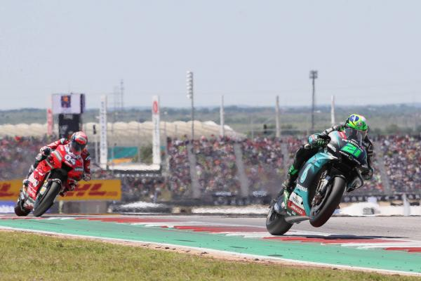 Morbidelli 'very, very happy' with MotoGP best