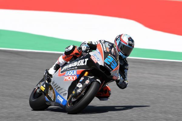 Moto2 Mugello: Schrotter snatches last gasp pole