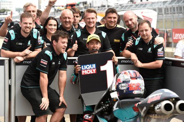 Moto3 Germany: Sasaki secures stunning maiden pole at the Sachsenring