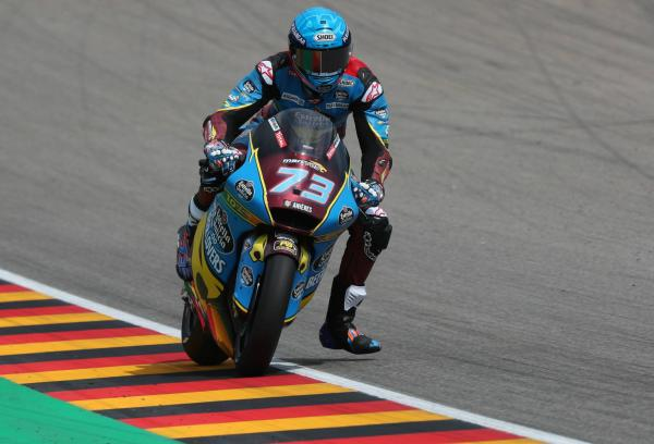Moto2 Germany: Marquez graduates from Q1 for first pole of the season
