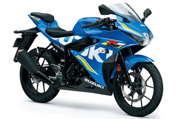 Here's Suzuki's new GSX-R125