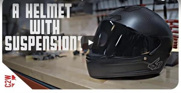 A helmet with suspension?