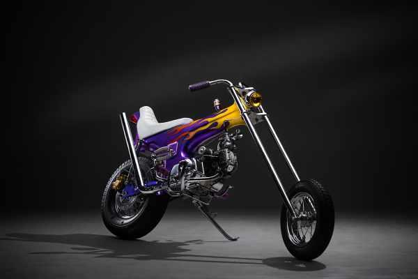 Honda Dax custom chopper Ramone
