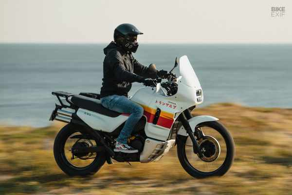 Honda Transalp restomod Vida Bike Exif