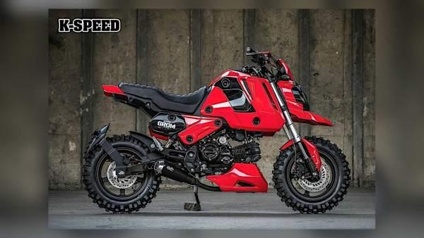 Custom Honda Grom KSpeed Super Grom