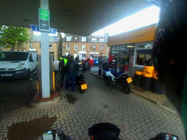 petrol station fuel refill fuel crisis