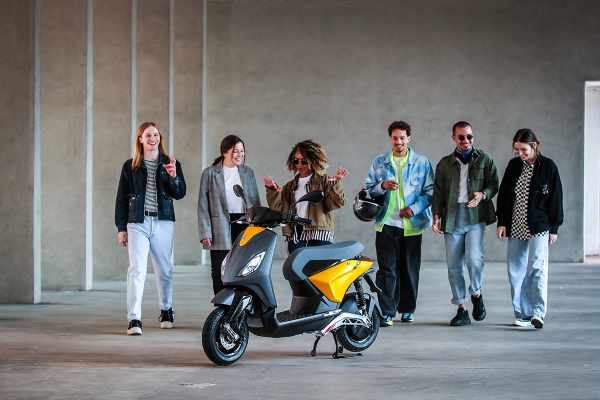 piaggio one electric scooter 2021