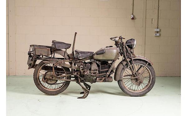Special WWII Harley and Guzzi under the Bonhams hammer
