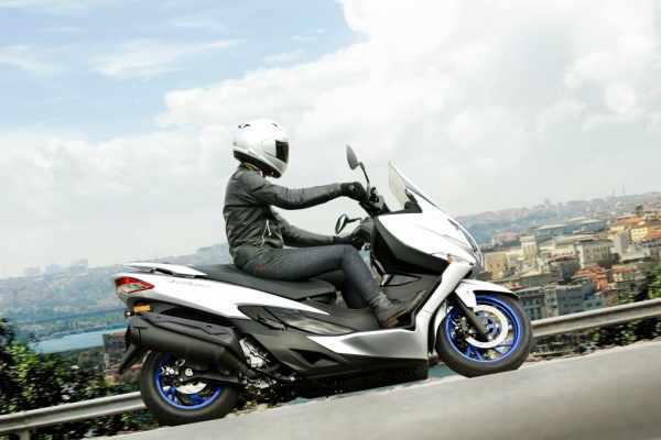 Suzuki Burgman 400 new for 2021