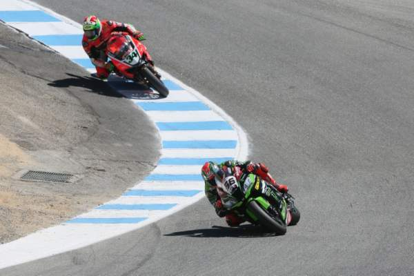 WSBK Laguna Seca - Race results (2)