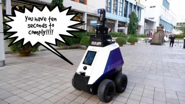 Motorcycle parking robot