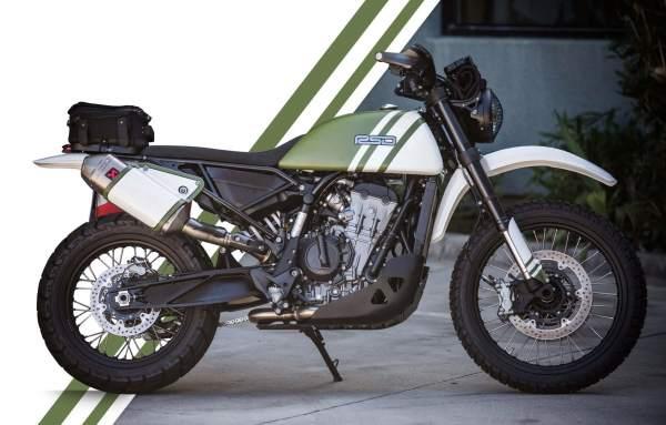 Urban Assault KTM 790 Adventure Roland Sands Side