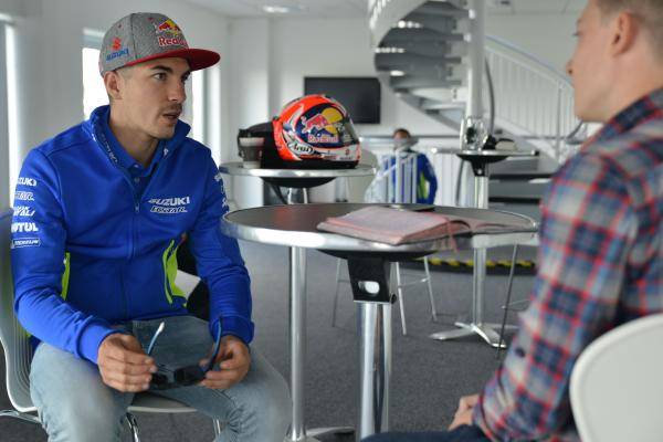 Five minutes with Maverick Viñales