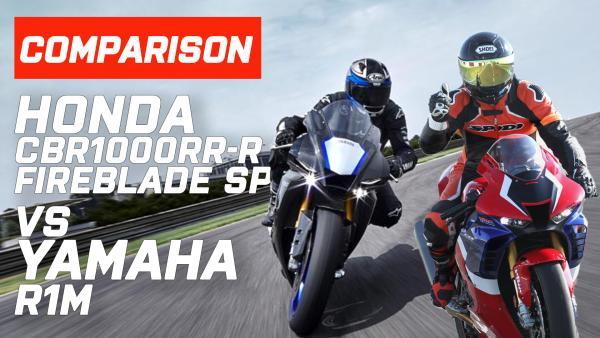 Yamaha R1, Honda CBR1000RR-R