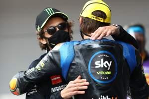 Luca Marini, Valentino Rossi - Sky Italia VR46