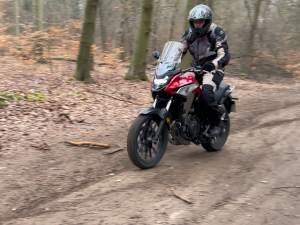 Honda CB500X offroad