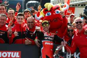 Alvaro Bautista - Team HRC Honda