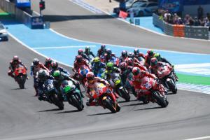 MotoGP start Jerez
