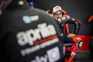 Andrea Dovizioso - Aprilia Racing