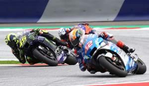 Alex Rins, Valentino Rossi, Yamaha, Suzuki