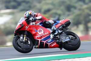 Jorge Martin - praam Ducati