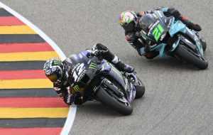 Maverick Vinales, Franco Morbidelli - German MotoGP, Yamaha, MotoGP 2021