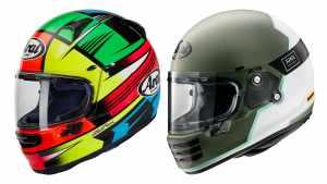 Arai motorcycle helmets Profile-V Rapide