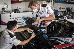 BMW WorldSBK Team Printing Parts