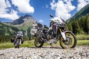 Givi Africa Twin body armour protection