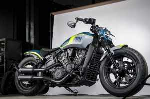Indian Motorcycle NEON Tank Machine custom motorcycle