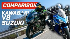 Kawasaki vs suzuki Ninja Thumbnail