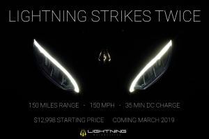 Lightning Strike electric motorcycle