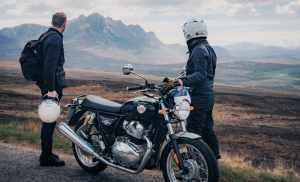 Royal Enfield and Bikerbnb Highland Scramble 2021