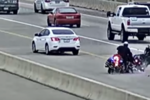 police motorcyclists collide
