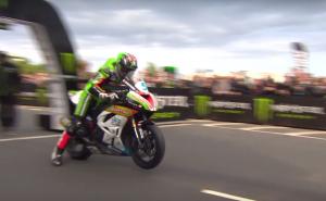 Isle of Man TT Supersport race 1.