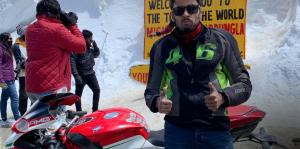 Harish Rossi MV F4